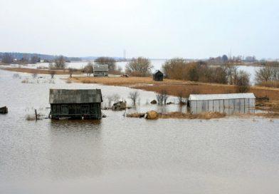 Par rīcību plūdu apdraudējuma gadījumā