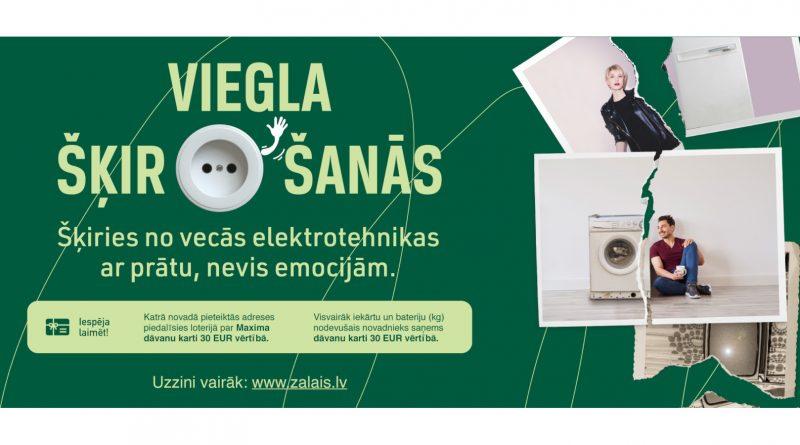 Daugavpils novada iedzīvotāji aicināti pieteikt elektroiekārtu bezmaksas izvešanu